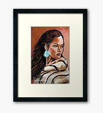 Lone Star, Wrapped In Tradition Framed Print