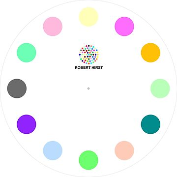 Robert Hirst Spot Clock by roberthirst-art
