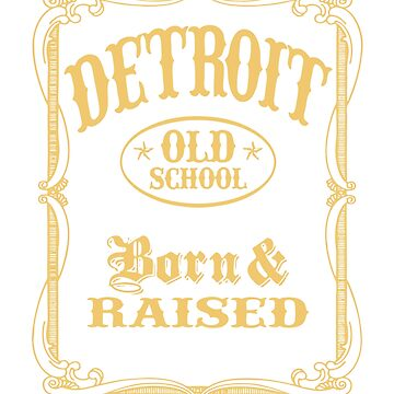 TRENDING HI955 Old School Detroit New Product by HadWeGo