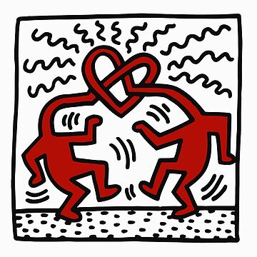 Love Head (Keith Haring) by RetroPops