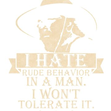BESTSELLER SM918 I Hate Rude Behavior Best Trending by TioPionee