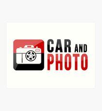 CarAndPhoto Brand Merchandise Art Print