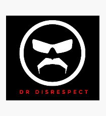 The Great Mustache Of Dr Disrespect Photographic Print