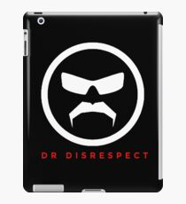 The Great Mustache Of Dr Disrespect iPad Case/Skin
