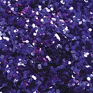 Purple Glitter by CrazyCraftLady