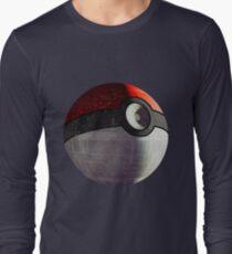 Pokeball Deathstar Long Sleeve T-Shirt
