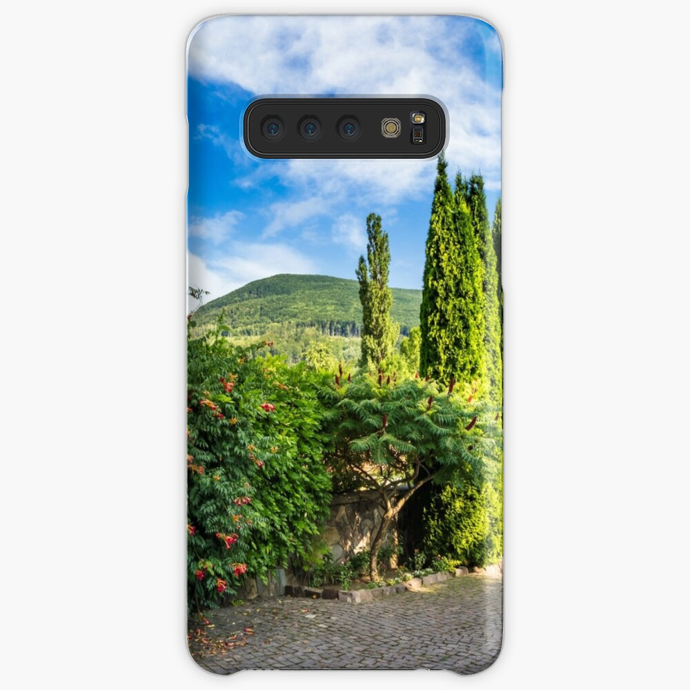 small park in mountains Samsung Galaxy Snap Case