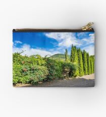 small park in mountains Studio Pouch