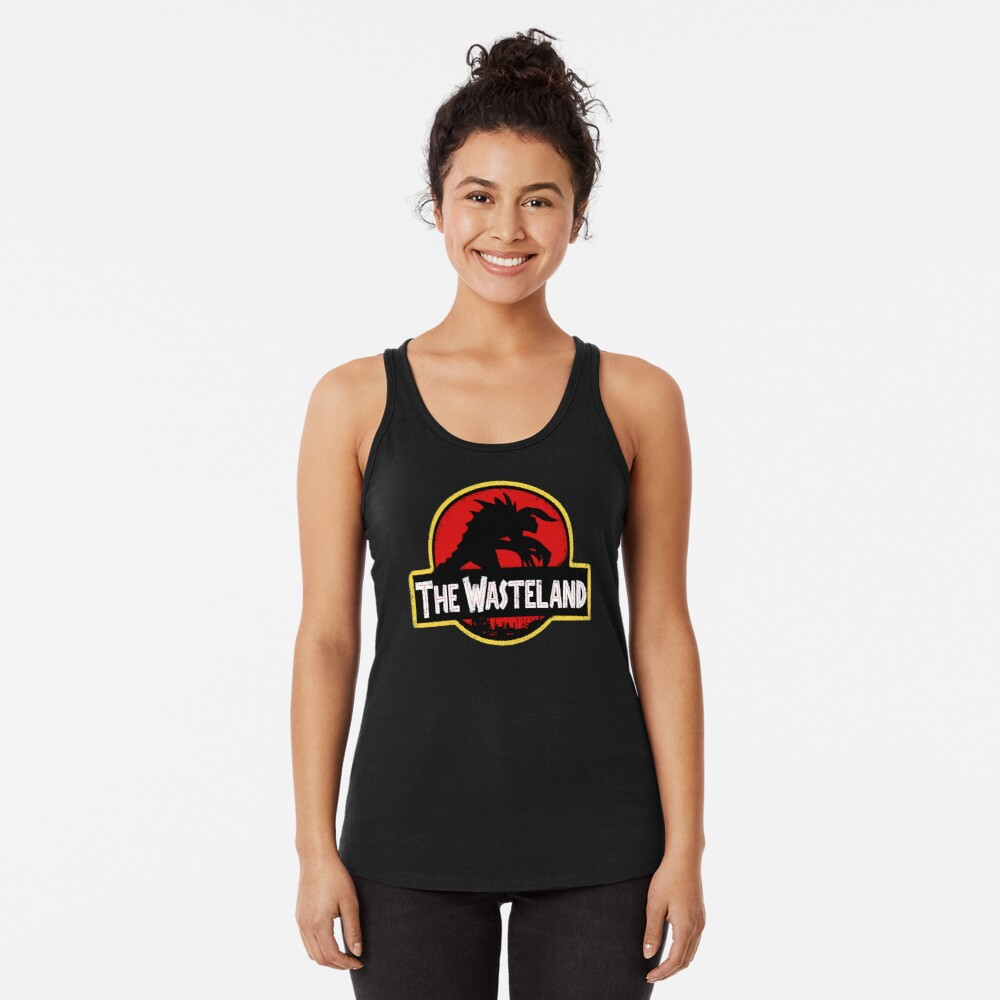 Welcome to the Wasteland  Racerback Tank Top