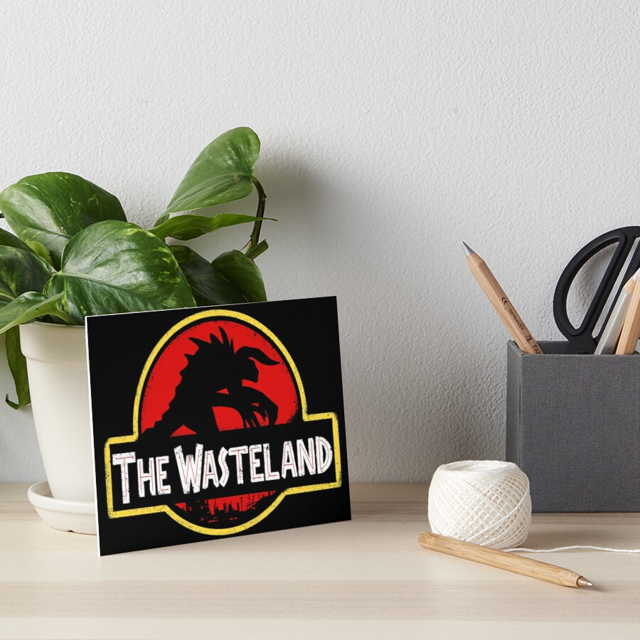 Welcome to the Wasteland  Art Board Print