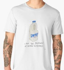 Milkman of human kindness. Men's Premium T-Shirt