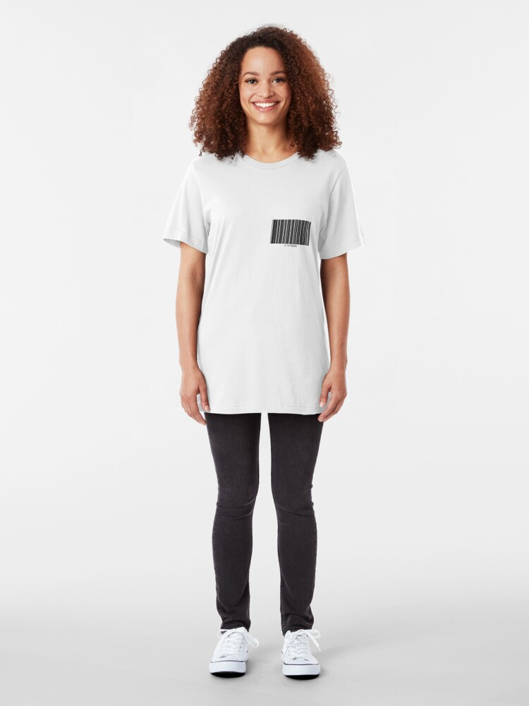 Alternate view of 3.14159265 (Small) Slim Fit T-Shirt