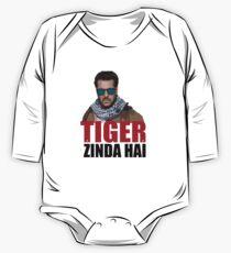 Body de manga larga Tiger Zinda Hai cool bollywood película unisex nueva camiseta de regalo y más