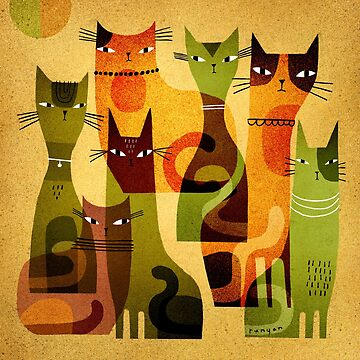 CAT HERD by terryrunyan