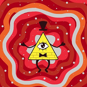 Bill Cipher Red de dixieulquiorra