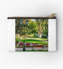City lights in the park Studio Pouch