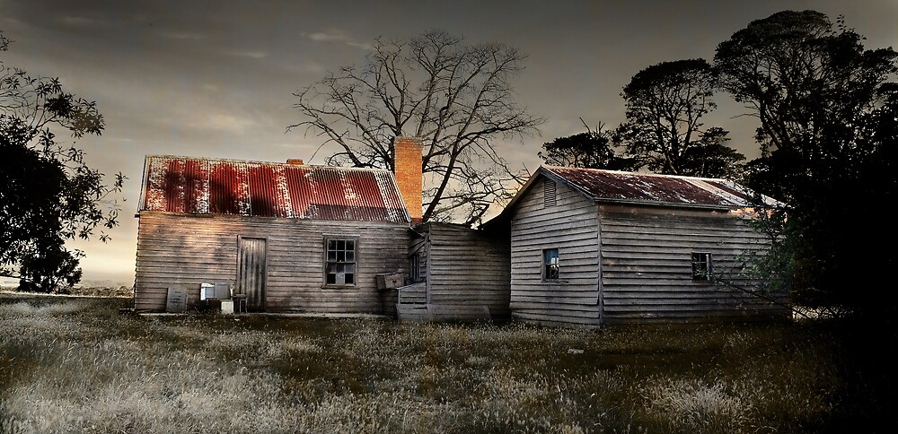 The Old Farmhouse by Kerry Duffy