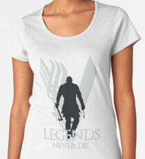 Legends Never Die Vikings Women's Premium T-Shirt