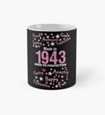 Made In 1943 - Aged To Perfection Mug
