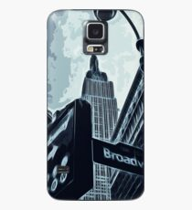Streets of New York - Broadway view Case/Skin for Samsung Galaxy