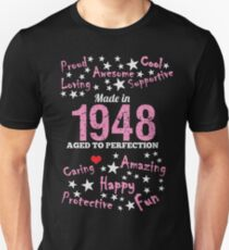 Made In 1948 - Aged To Perfection Unisex T-Shirt