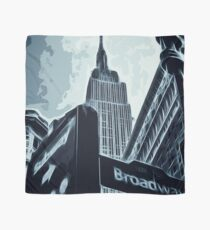 Streets of New York - Broadway view Scarf