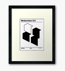 Modernism 2.0 (b) Framed Print