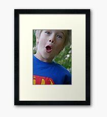 Superman! Framed Print