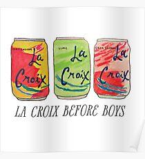 La Croix Before Boys Poster