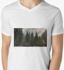 Naturist Men's V-Neck T-Shirt