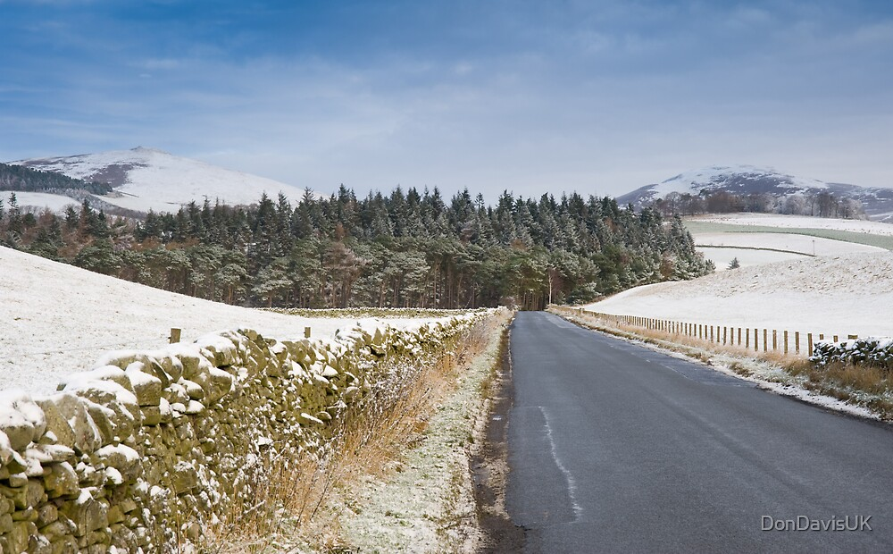 Snowy Moorfoot by DonDavisUK