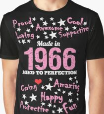 Made In 1966 - Aged To Perfection Graphic T-Shirt
