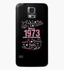 Made In 1973 - Aged To Perfection Case/Skin for Samsung Galaxy