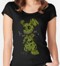 FNAF 3 Springtrap Women's Fitted Scoop T-Shirt