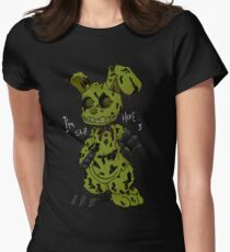 FNAF 3 Springtrap Women's Fitted T-Shirt