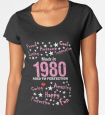 Made In 1980 - Aged To Perfection Women's Premium T-Shirt