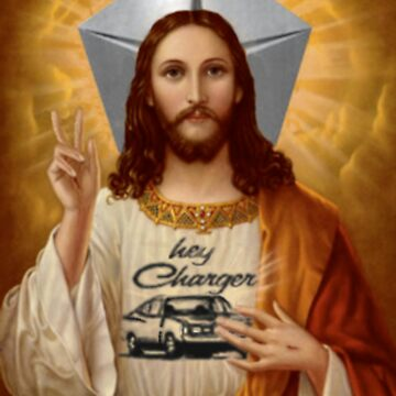Jesus drives a Charger by assh0le
