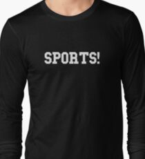 Sports! Philip Defranco  Long Sleeve T-Shirt