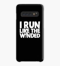 I Run Like The Winded Running Case/Skin for Samsung Galaxy