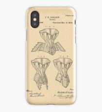 1879 Patent Corset iPhone Case