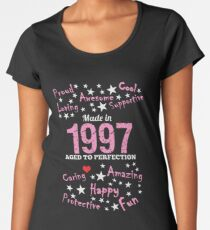 Made In 1997 - Aged To Perfection Women's Premium T-Shirt