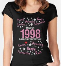 Made In 1998 - Aged To Perfection Women's Fitted Scoop T-Shirt