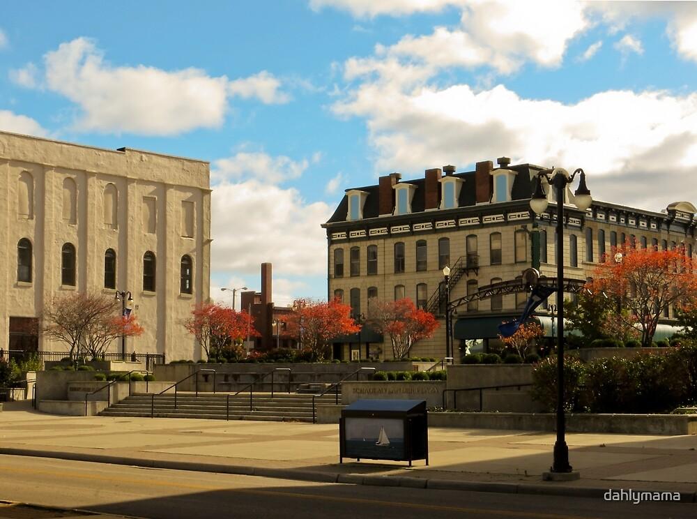 Downtown Sandusky Ohio by Shawna Rowe