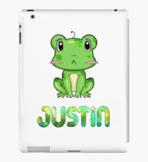 Justin Frog iPad Case/Skin