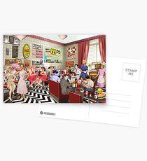 The Diner Postcards