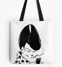 Spanish Las Vegas Lounge Singer Tote Bag