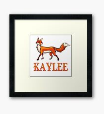 Kaylee Fox Framed Print