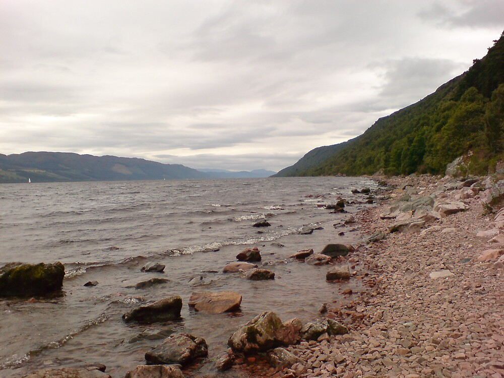 Loch Ness by Huw Williams
