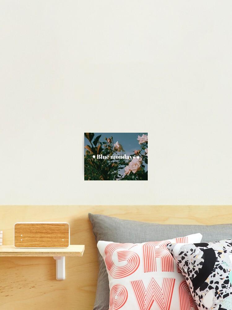 Aesthetic Lana Del Rey Inspired Indie Flowers Tumblr Photographic Print
