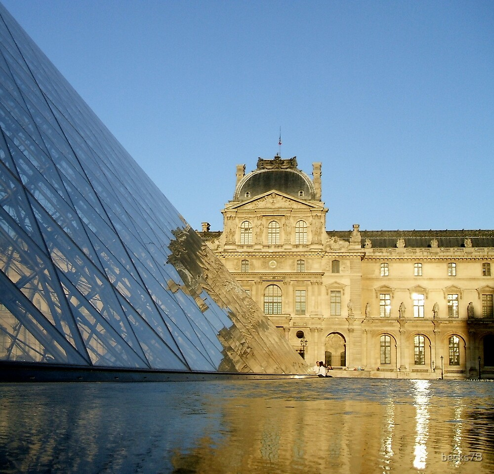 Louvre reflection by becks78
